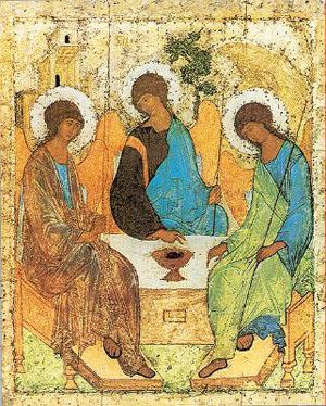 Rublev's Trinity icon