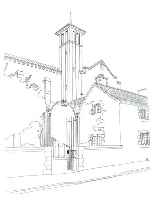 St Peter's line drawing