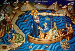 """And Jesus said to Simon, """"Do not be afraid; henceforth you will be catching men."""" And when they had brought their boats to land, they left everything and followed him. Luke 5; 10"""