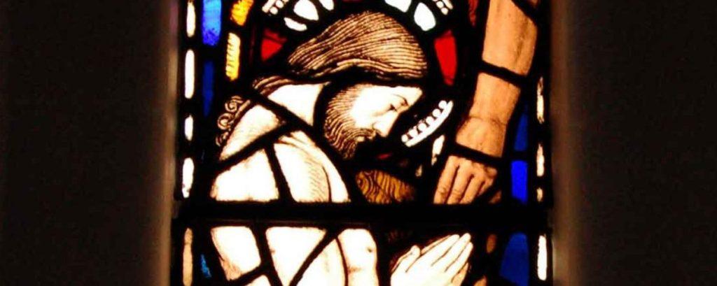 Jesus prayaing