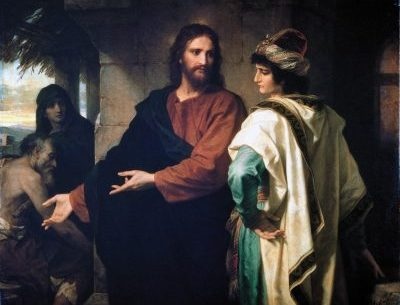 Rich Man and Christ
